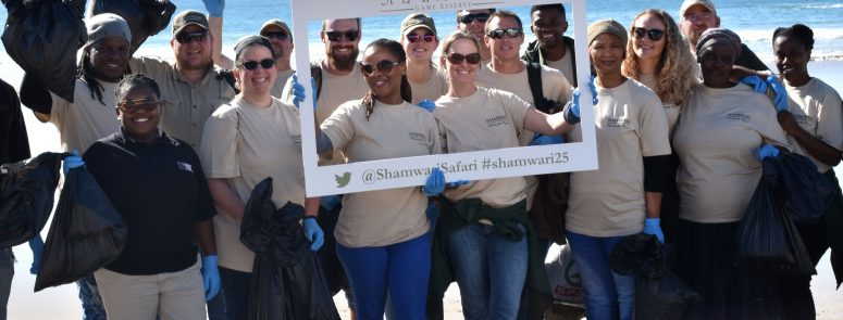 Shamwari Game Reserve Beach Clean Up