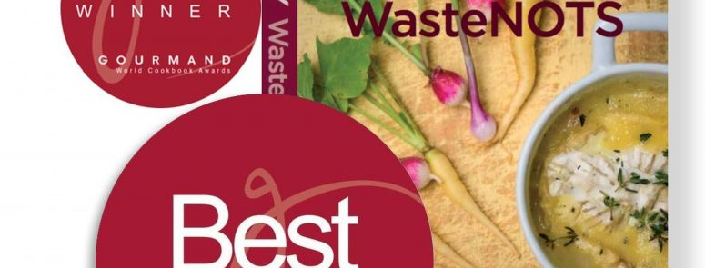 'Tasty WasteNOTS' Cookbook Voted Best in the World